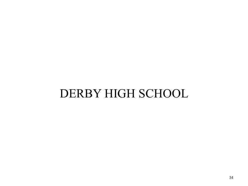 34 DERBY HIGH SCHOOL