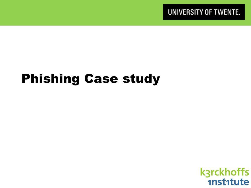 Phishing Case study