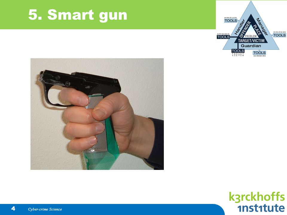 Cyber-crime Science 4 5. Smart gun