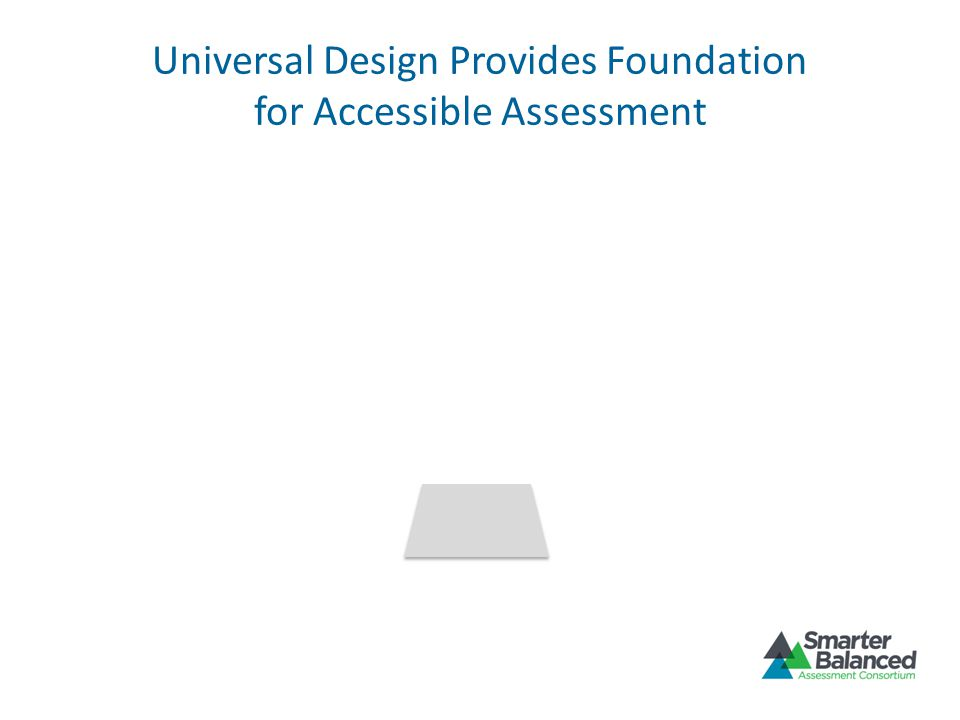 Universal Design Provides Foundation for Accessible Assessment