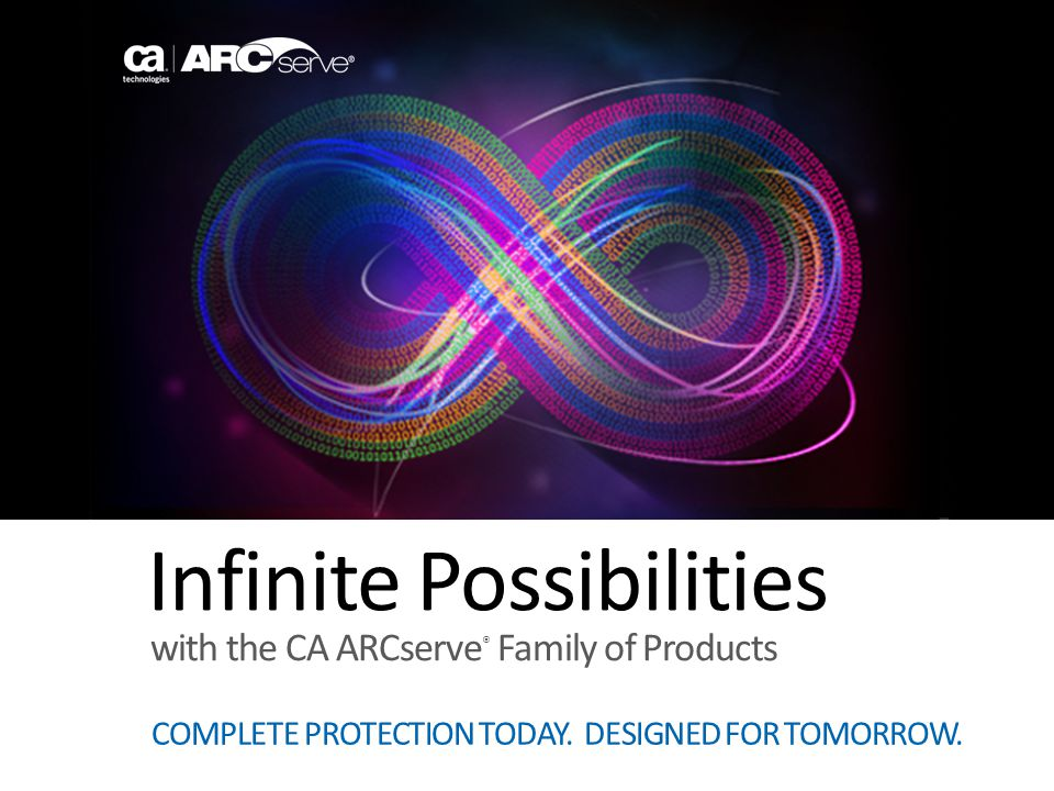 Infinite Possibilities COMPLETE PROTECTION TODAY. DESIGNED FOR TOMORROW.