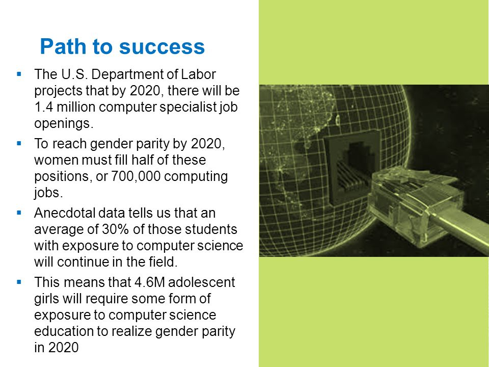 4 Path to success The U.S.