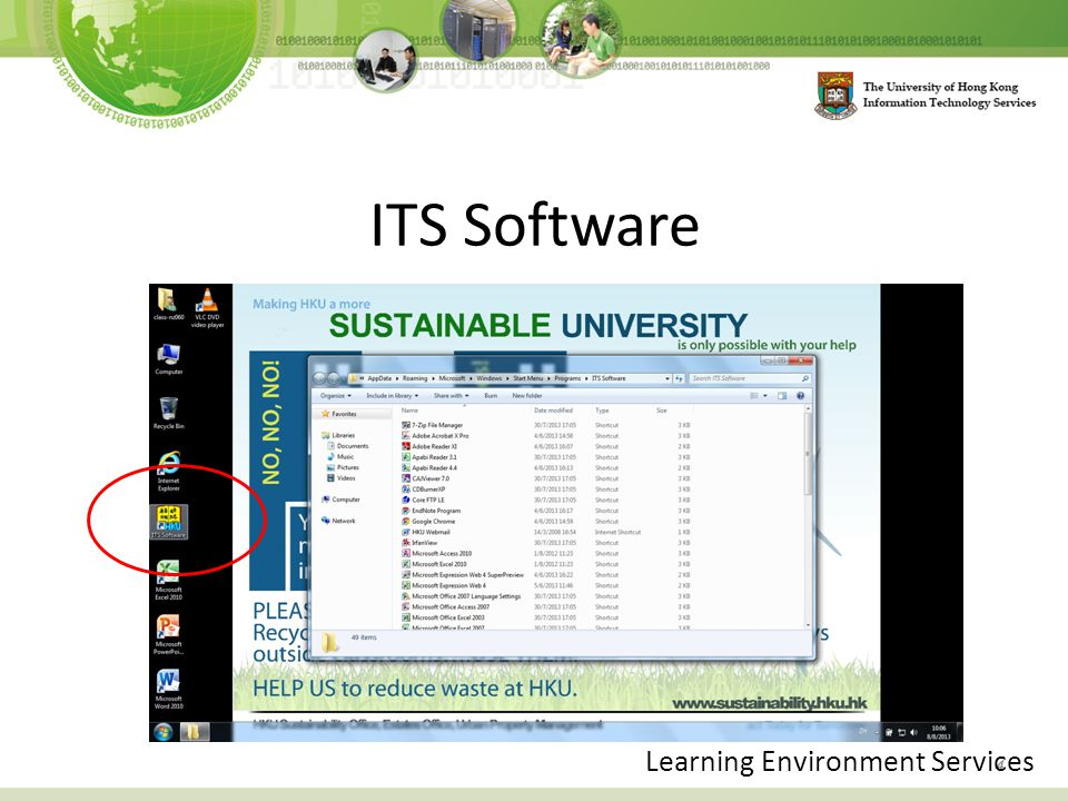 ITS Software 4 Learning Environment Services