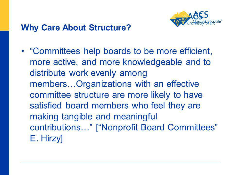 78 American Chemical Society Why Care About Structure.