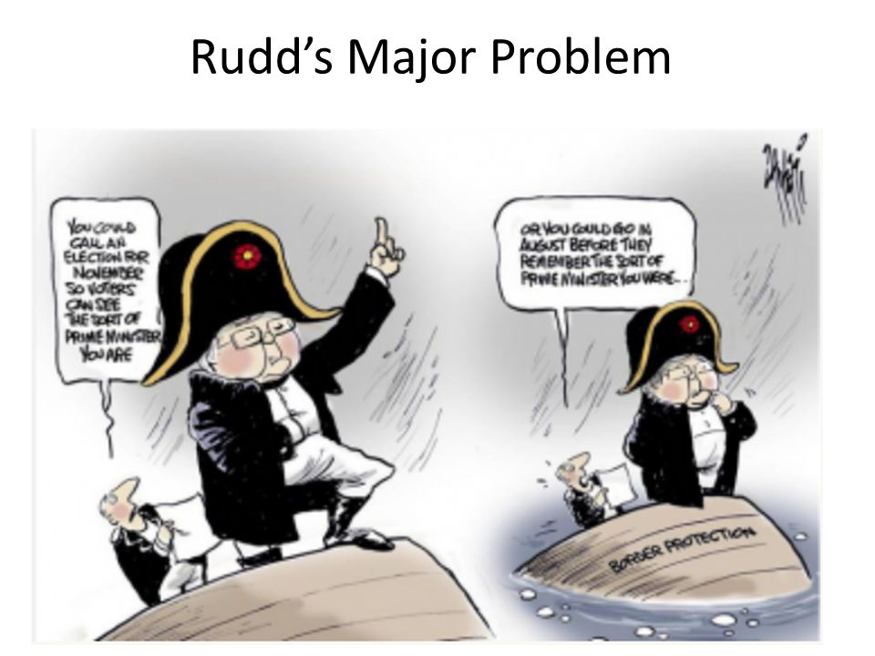 Rudds Major Problem