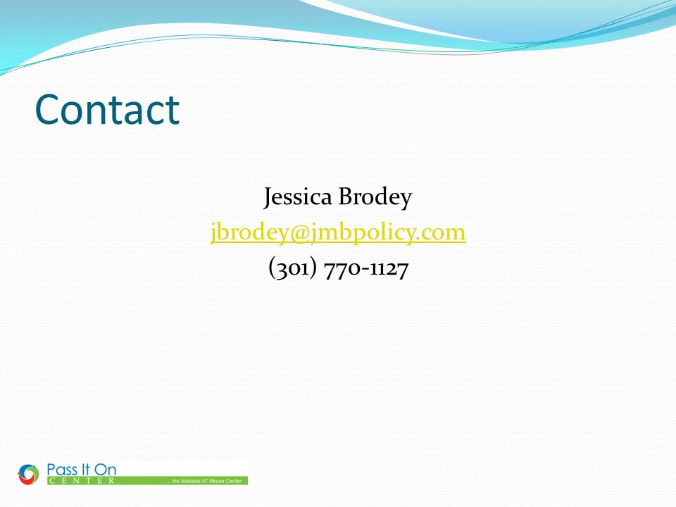 Contact Jessica Brodey jbrodey@jmbpolicy.com (301) 770-1127