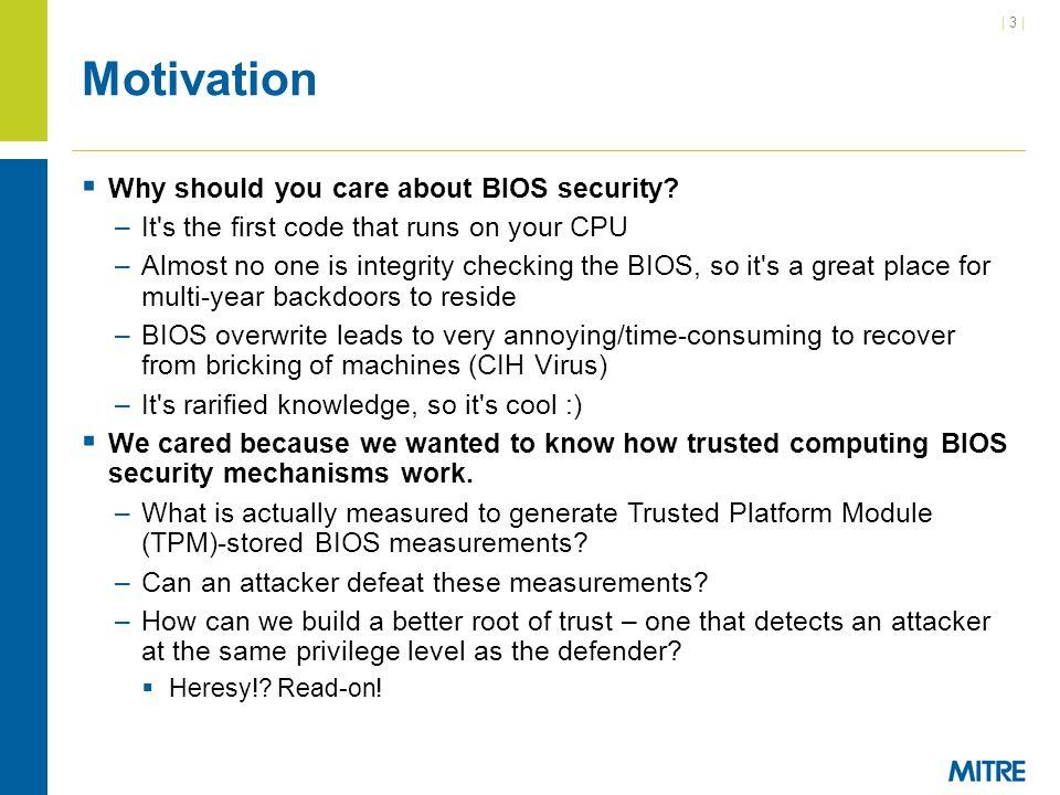 | 104 | BIOS Static Analysis in IDA Video IDA http://www.youtube.com/watch?v=R-5UO6jLkEI