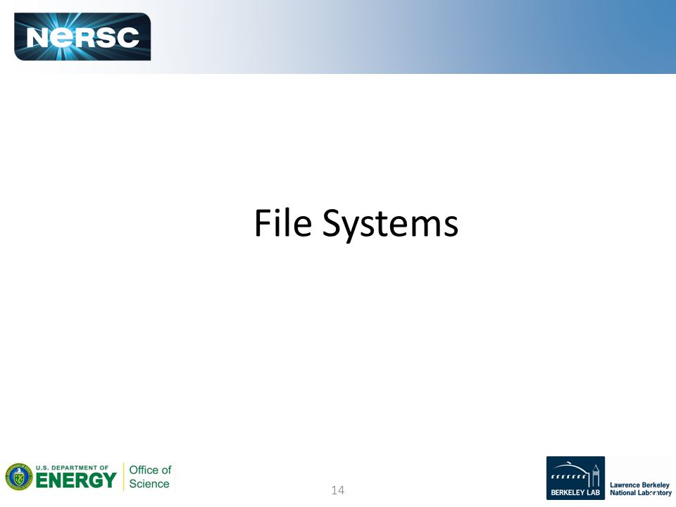 14 File Systems 14