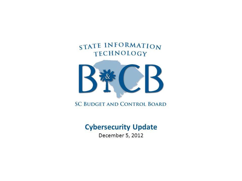 Cybersecurity Update December 5, 2012