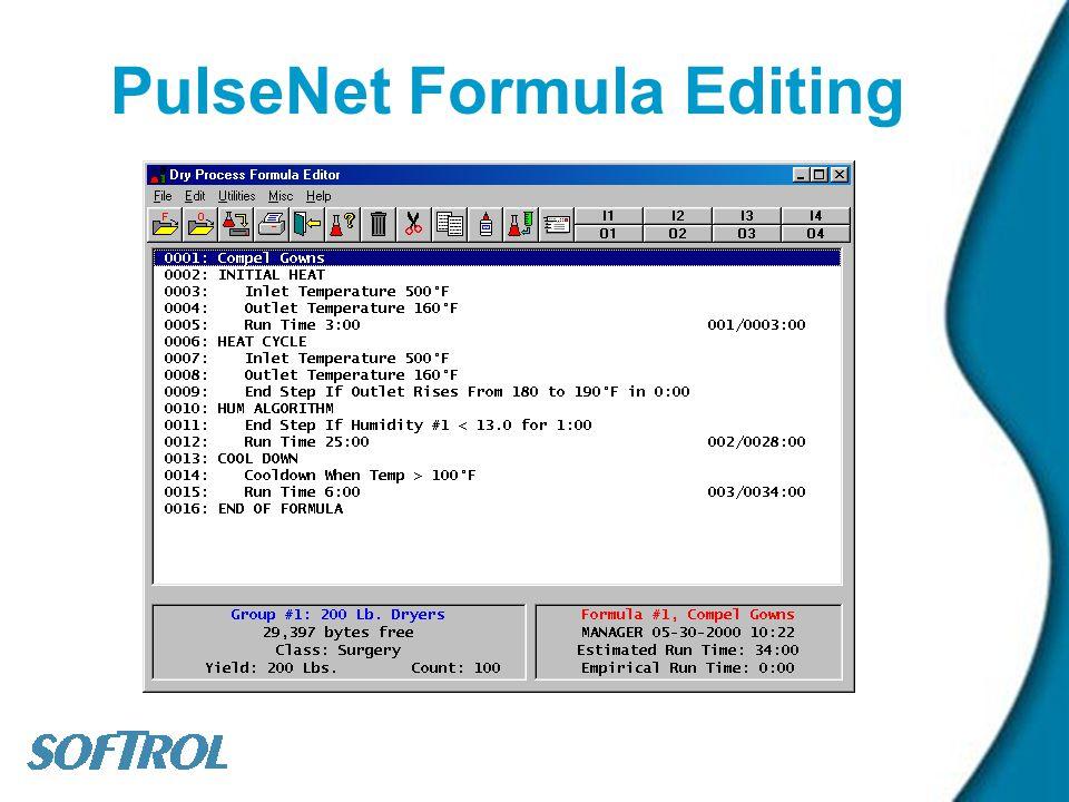 PulseNet Formula Editing