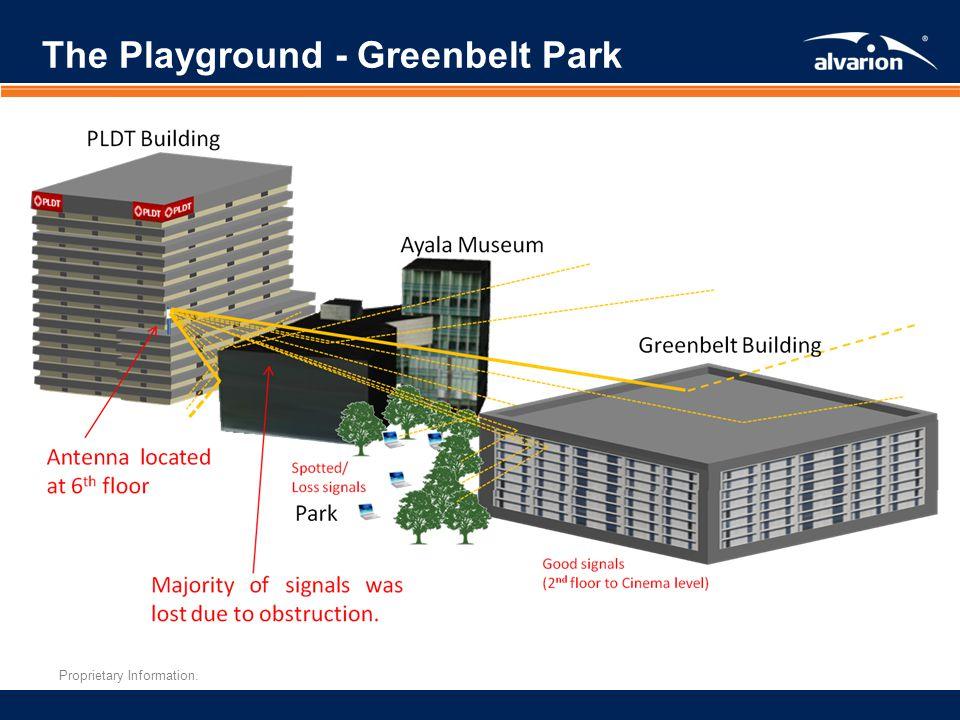 Proprietary Information. The Playground - Greenbelt Park