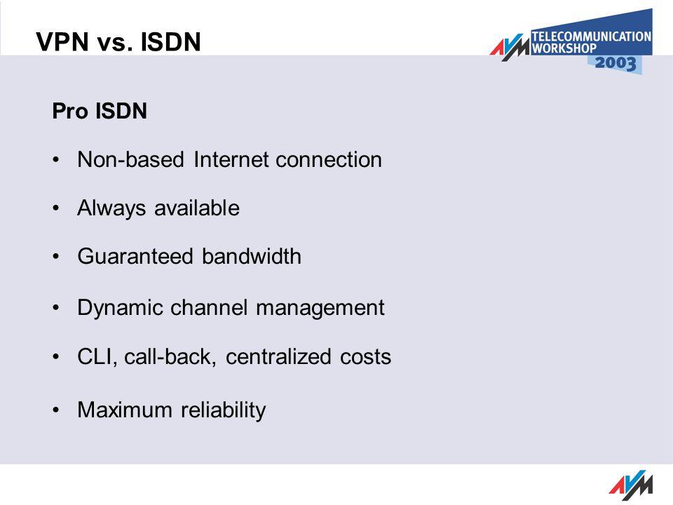 VPN vs.