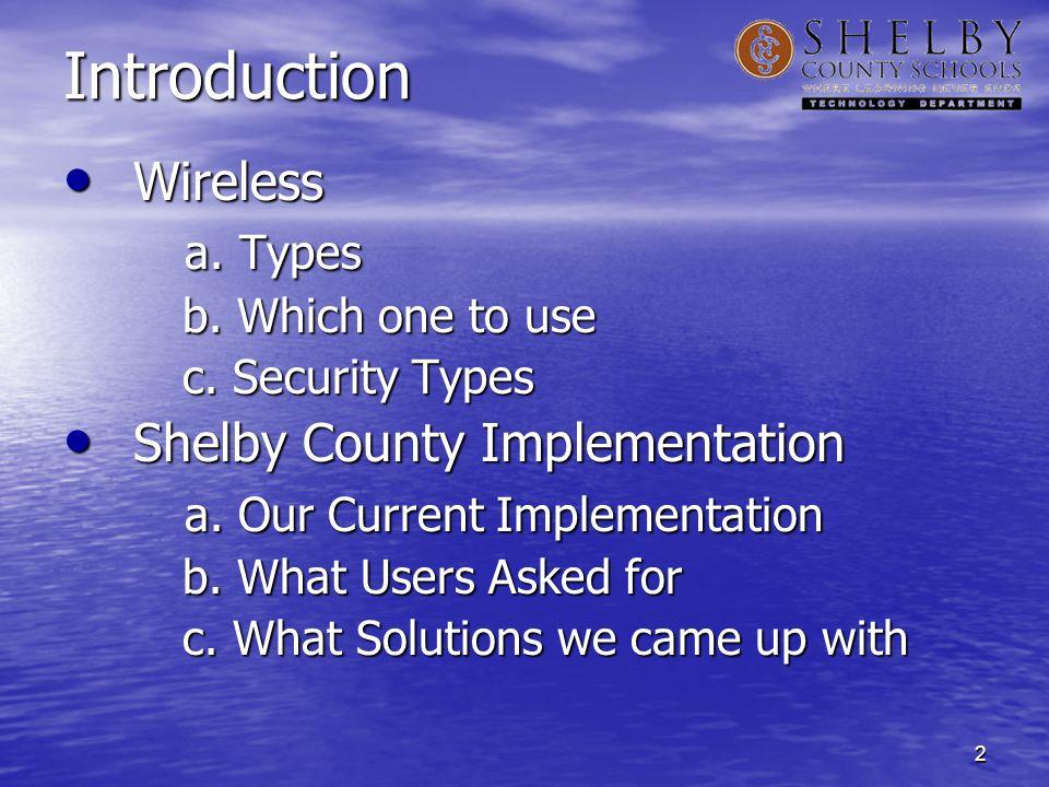 3 802.11b 802.11b 802.11g 802.11g 802.11a 802.11a 802.11n 802.11n Types of Wireless