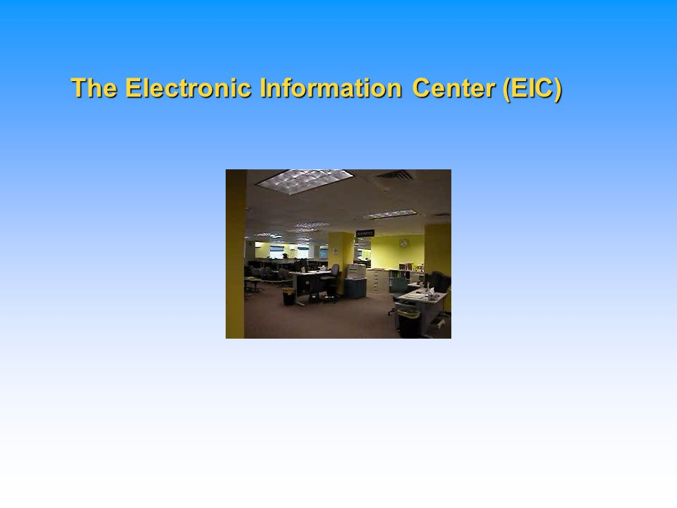 Electronic Information Labs 1 and 2: 28 & 30 PCs respectively Hands-on instruction Rooms can be reserved General use overflow General use PCs: Interne