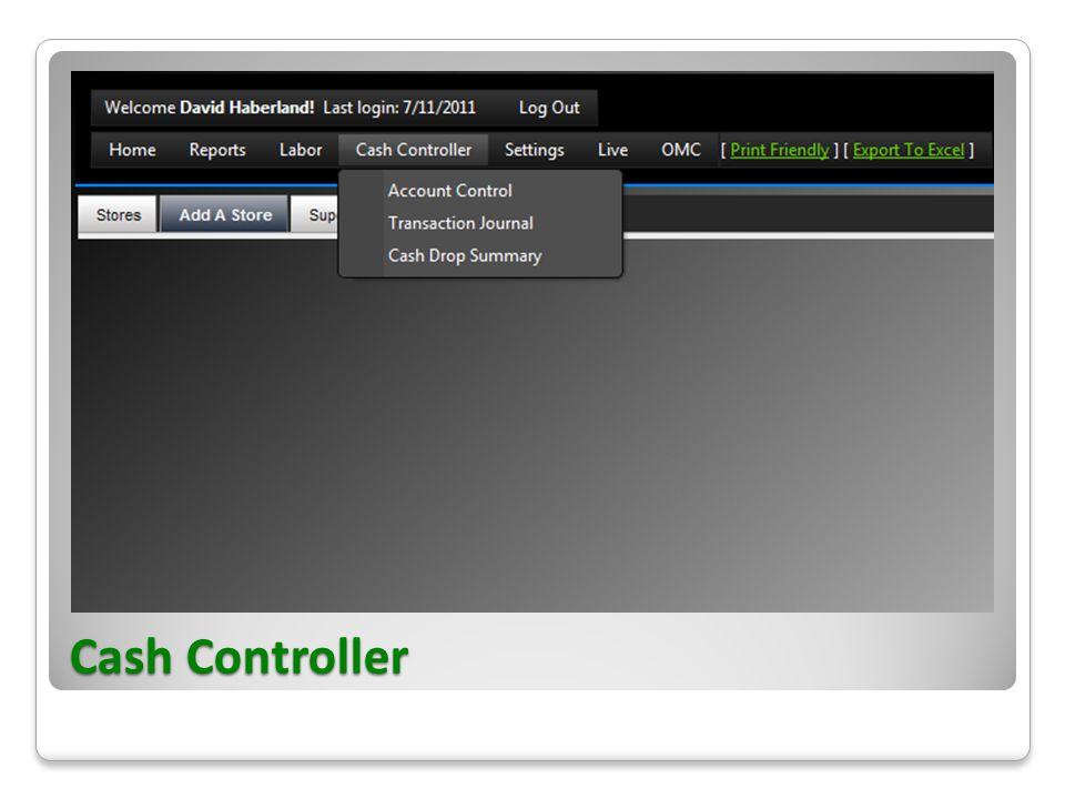 Cash Controller