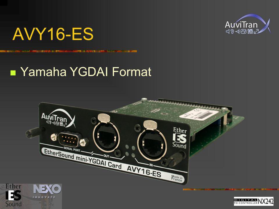 AVY16-ES Yamaha YGDAI Format
