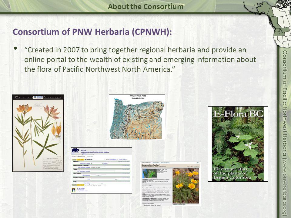 56 public and private herbaria.3,400,000 specimens.