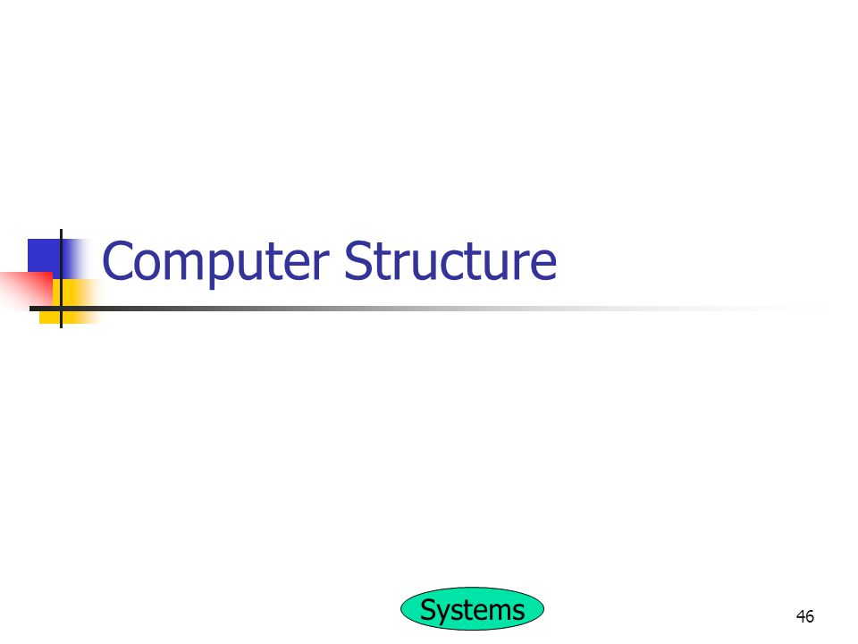 Systems 46 Computer Structure