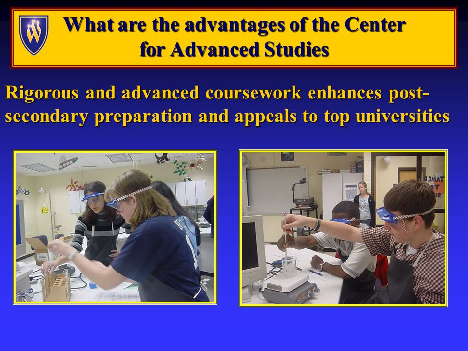 What is The Center for Advanced Studies What is The Center for Advanced Studies and what does it offer .