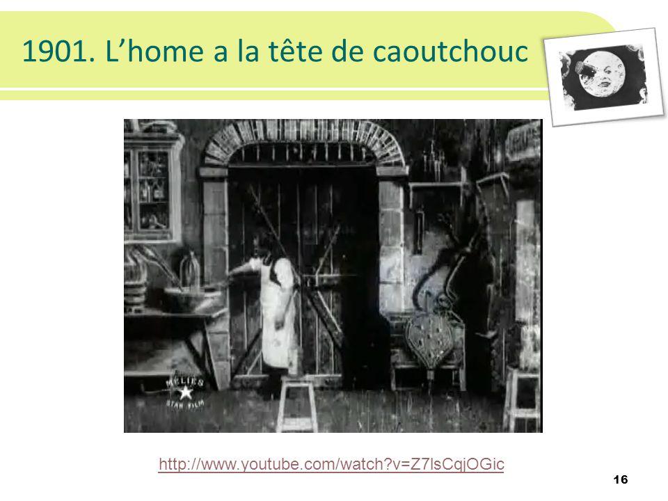 1901. Lhome a la tête de caoutchouc 16 http://www.youtube.com/watch?v=Z7lsCqjOGic