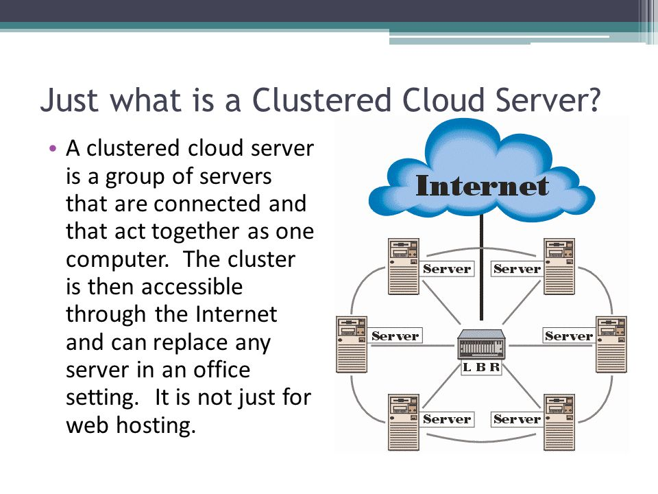 Just what is a Clustered Cloud Server.
