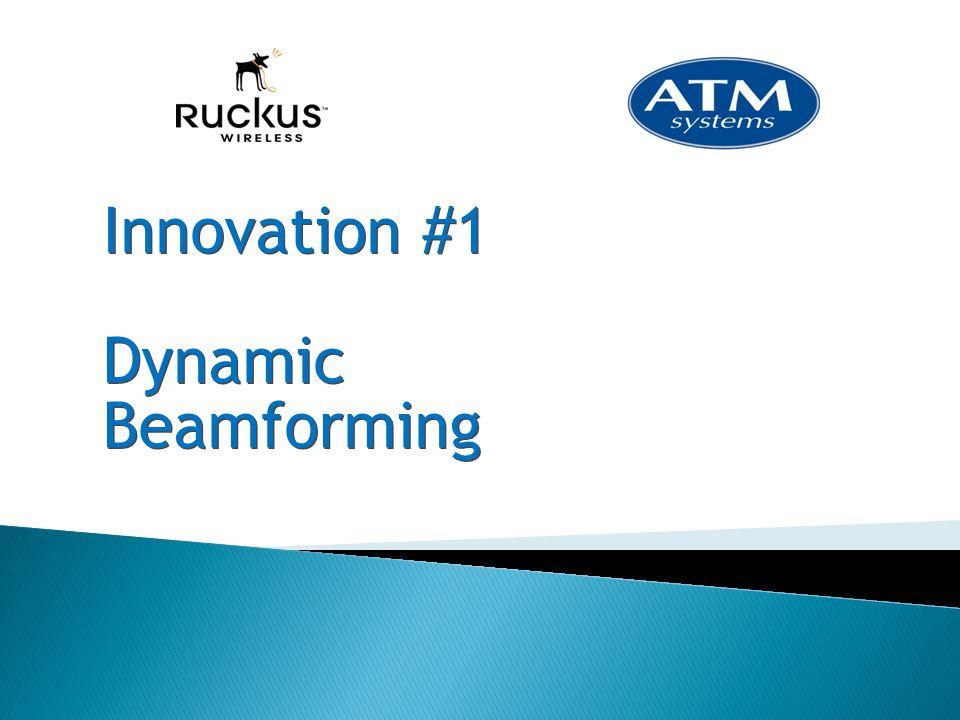 Innovation #1 Dynamic Beamforming Innovation #1 Dynamic Beamforming