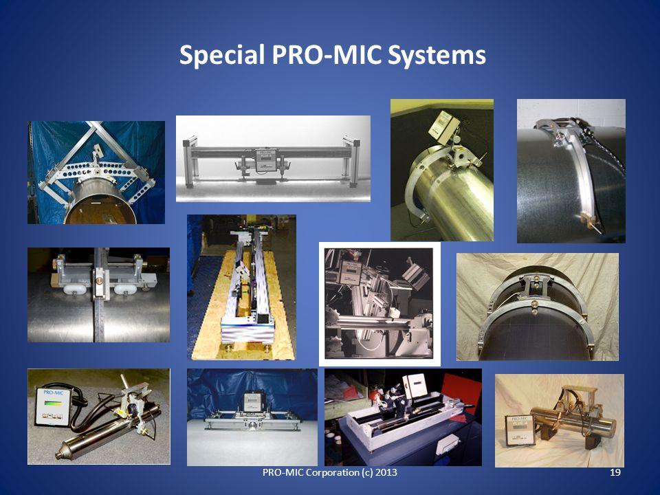 Sample Hardcopy Reports 18PRO-MIC Corporation (c) 2013