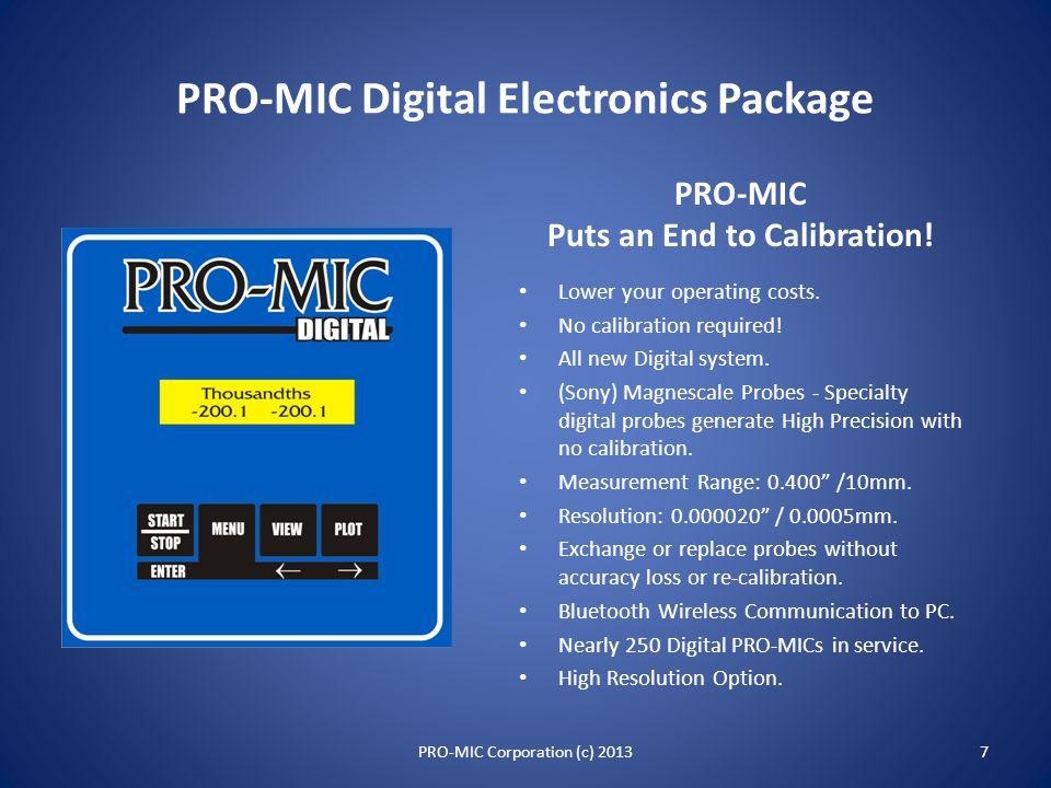 PRO-MIC Locations 6PRO-MIC Corporation (c) 2013