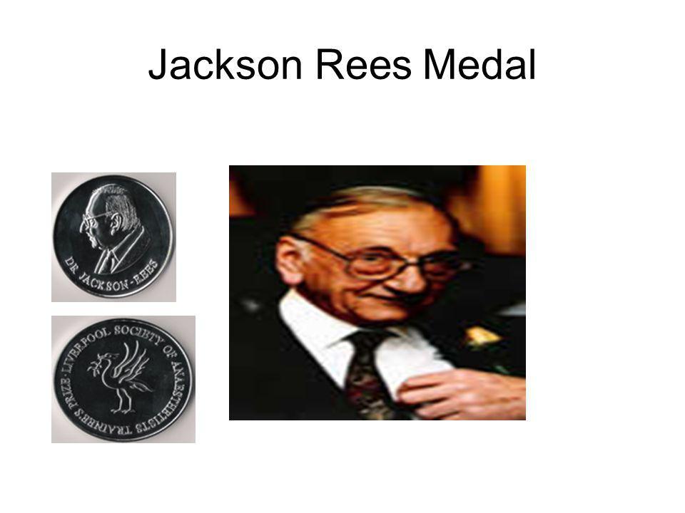 Jackson Rees Medal
