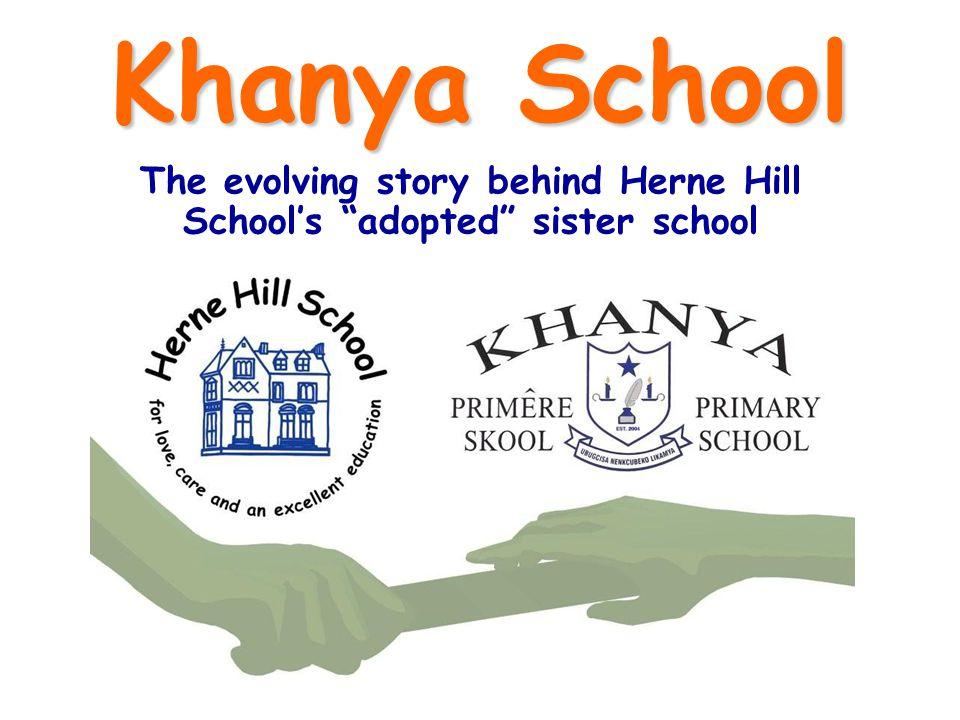 Khanya School The evolving story behind Herne Hill Schools adopted sister school