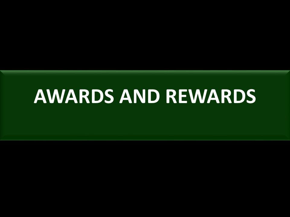 AWARDS AND REWARDS