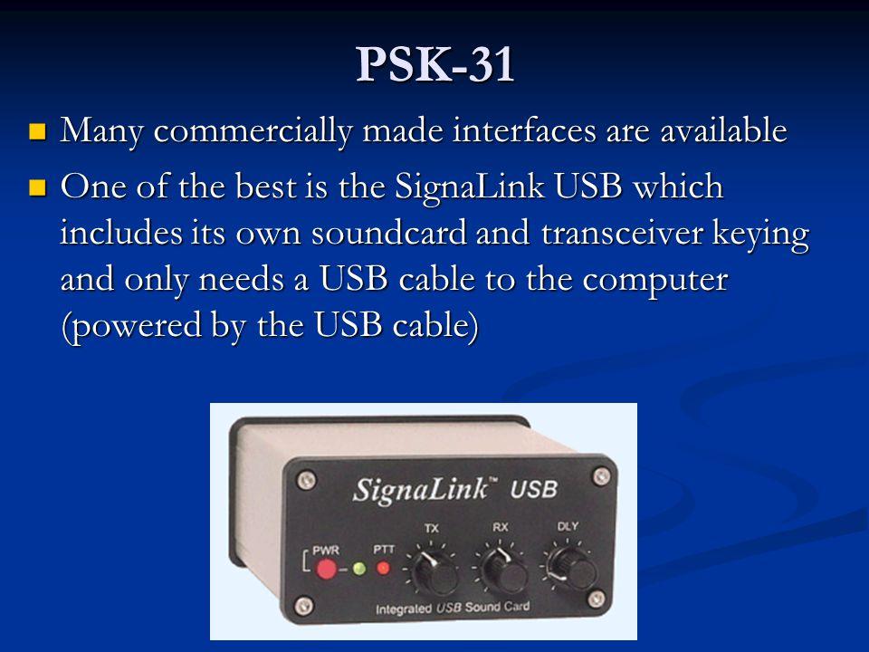 PSK-31 Basic transceiver to computer soundcard interface Basic transceiver to computer soundcard interface
