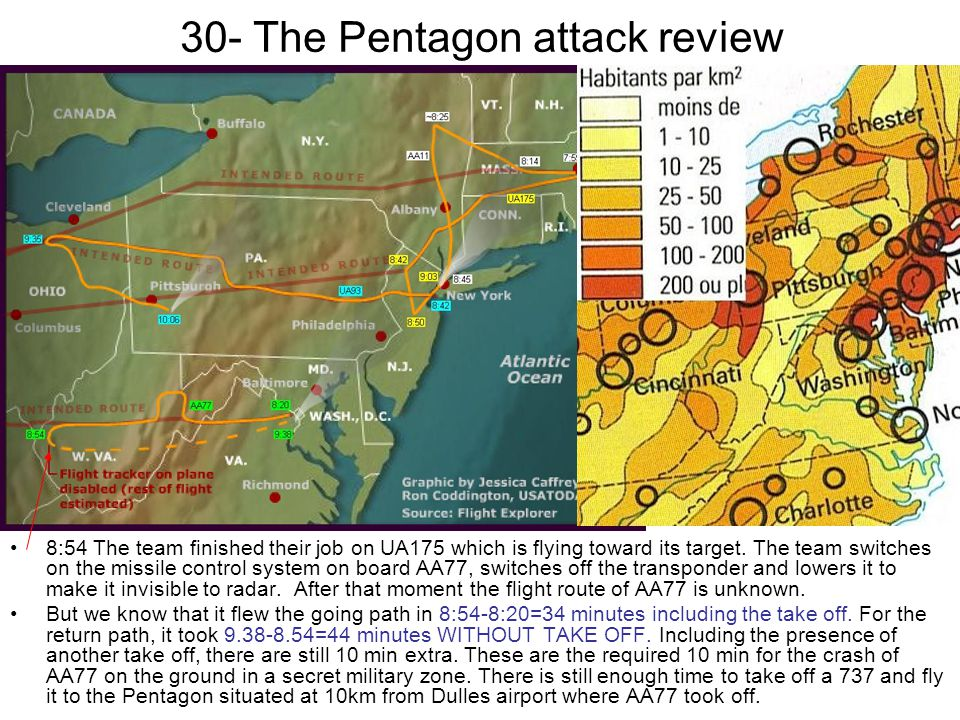 30- The Pentagon attack review 8:54 The team finished their job on UA175 which is flying toward its target. The team switches on the missile control s