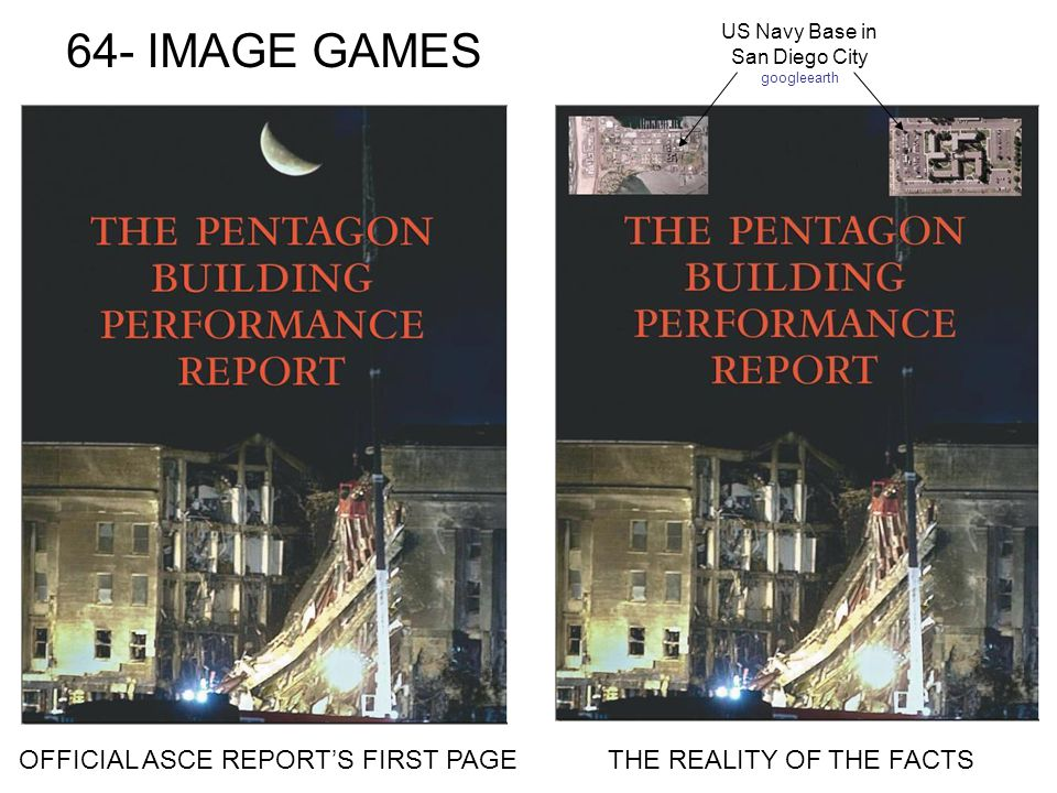 64- IMAGE GAMES OFFICIAL ASCE REPORTS FIRST PAGETHE REALITY OF THE FACTS US Navy Base in San Diego City googleearth