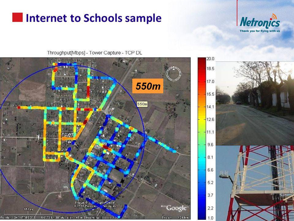 Internet to Schools sample 54 550m