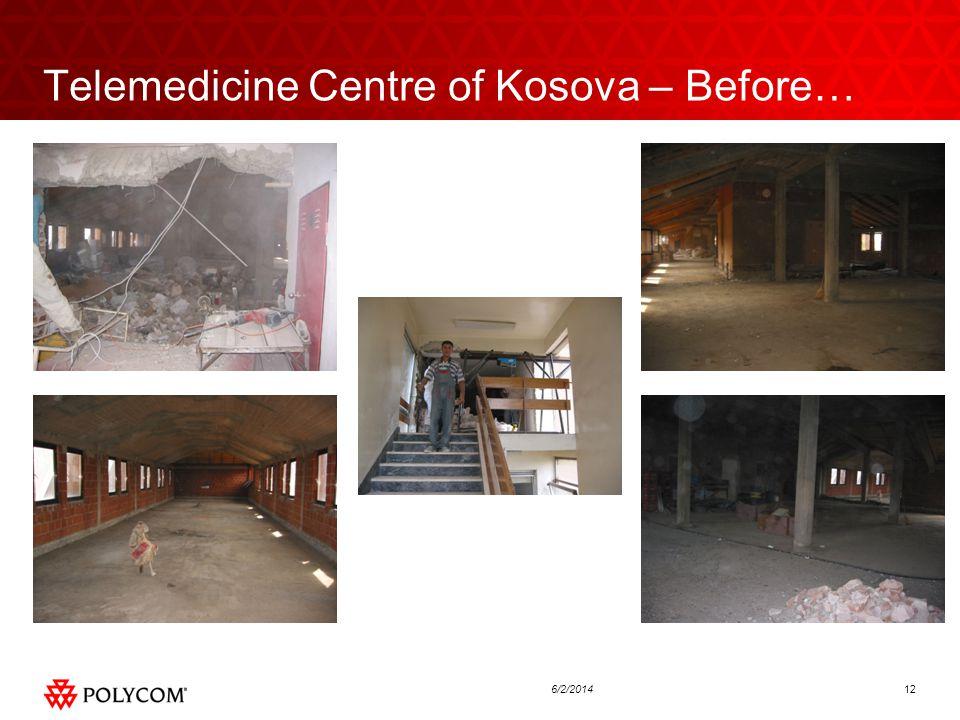 126/2/2014 Telemedicine Centre of Kosova – Before…