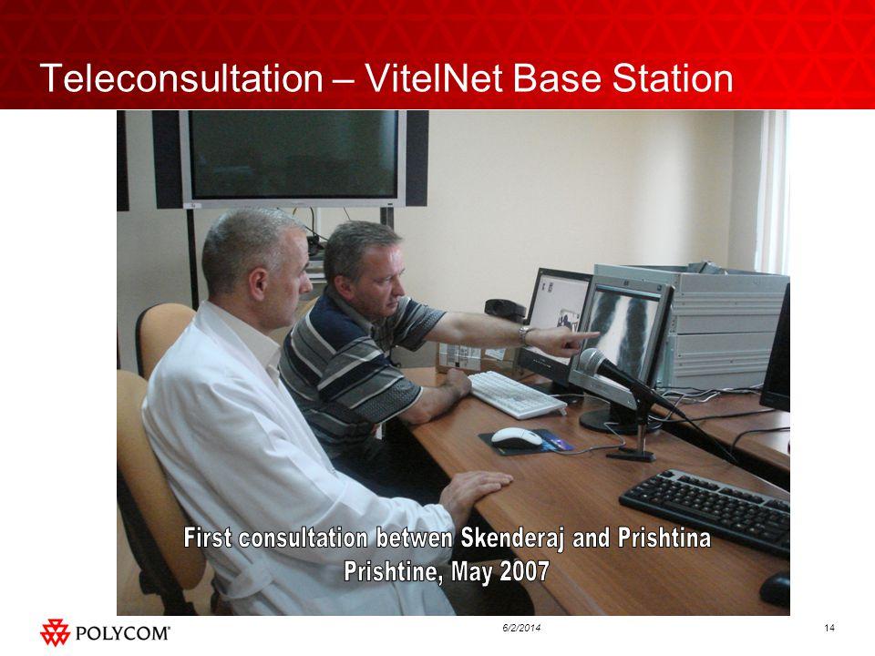 146/2/2014 Teleconsultation – VitelNet Base Station