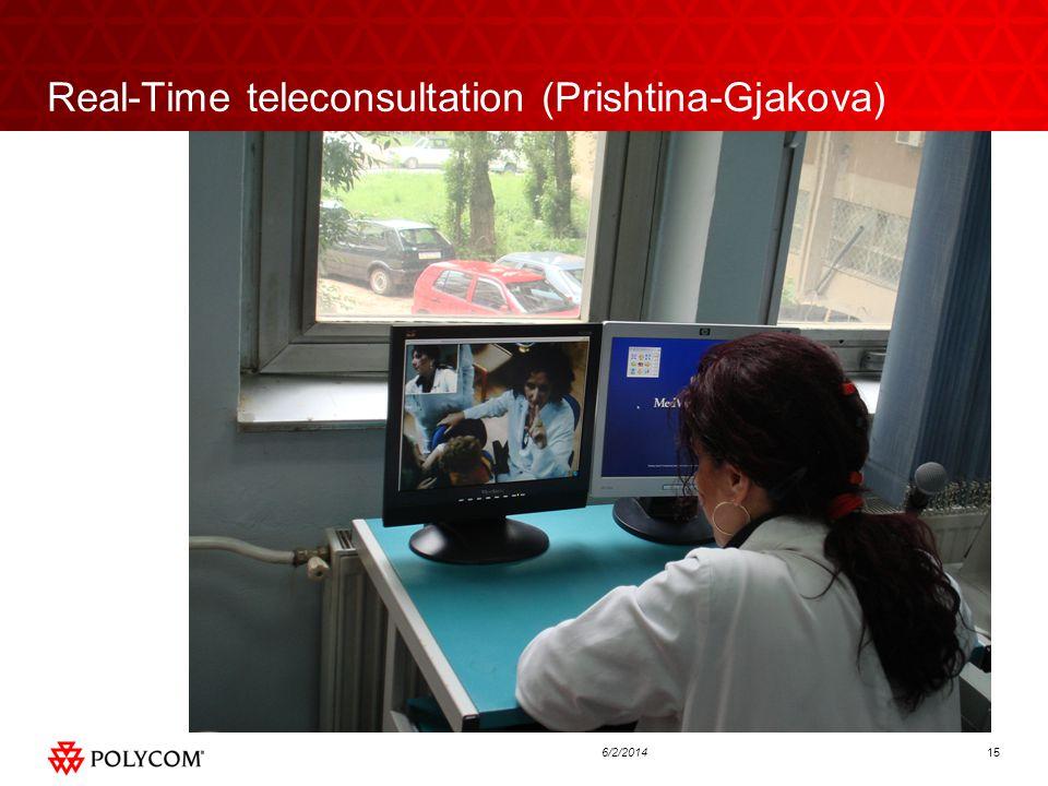 156/2/2014 Real-Time teleconsultation (Prishtina-Gjakova)