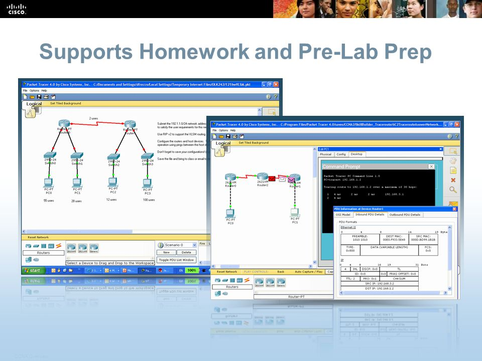 CCNA Overview 35 © 2009 Cisco Systems, Inc.All rights reserved.