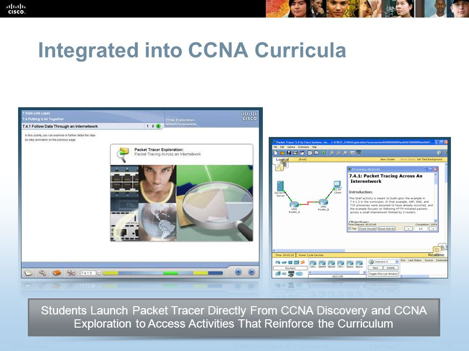 CCNA Overview 36 © 2009 Cisco Systems, Inc.All rights reserved.