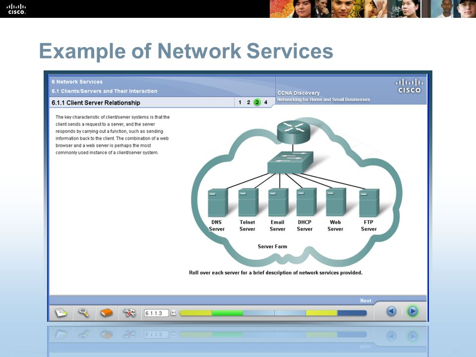 CCNA Overview 51 © 2009 Cisco Systems, Inc.All rights reserved.
