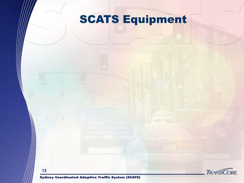 13 SCATS Equipment