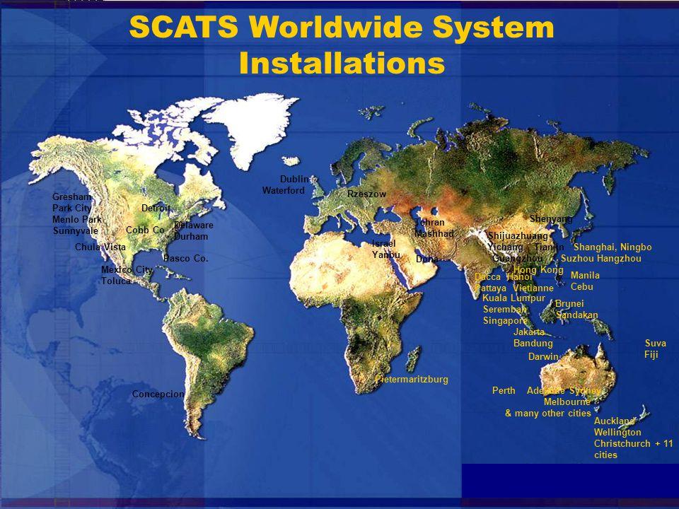4 SCATS US Installations