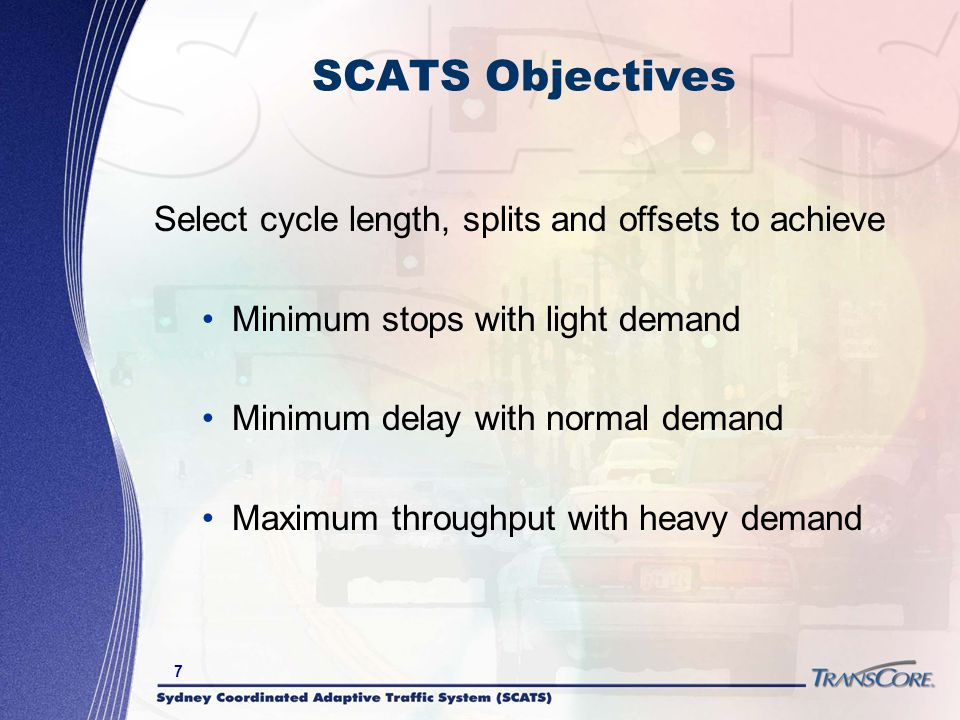 8 SCATS Detection