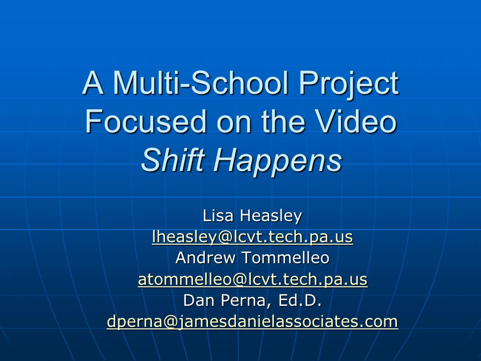 Required Teacher Time and Acceptance of the Project Required Teacher Time and Acceptance of the Project DAN