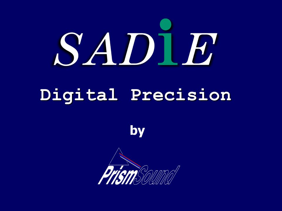 Digital Precision by