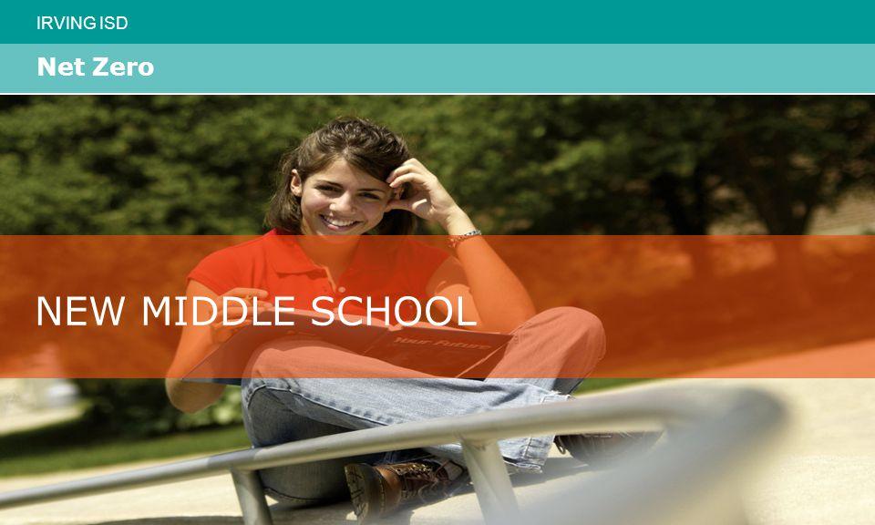 IRVING ISD Net Zero NEW MIDDLE SCHOOL