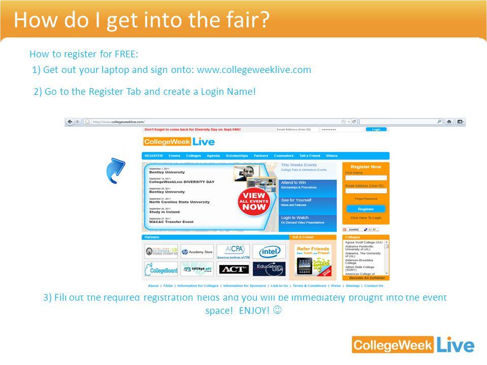 How do I get into the fair.