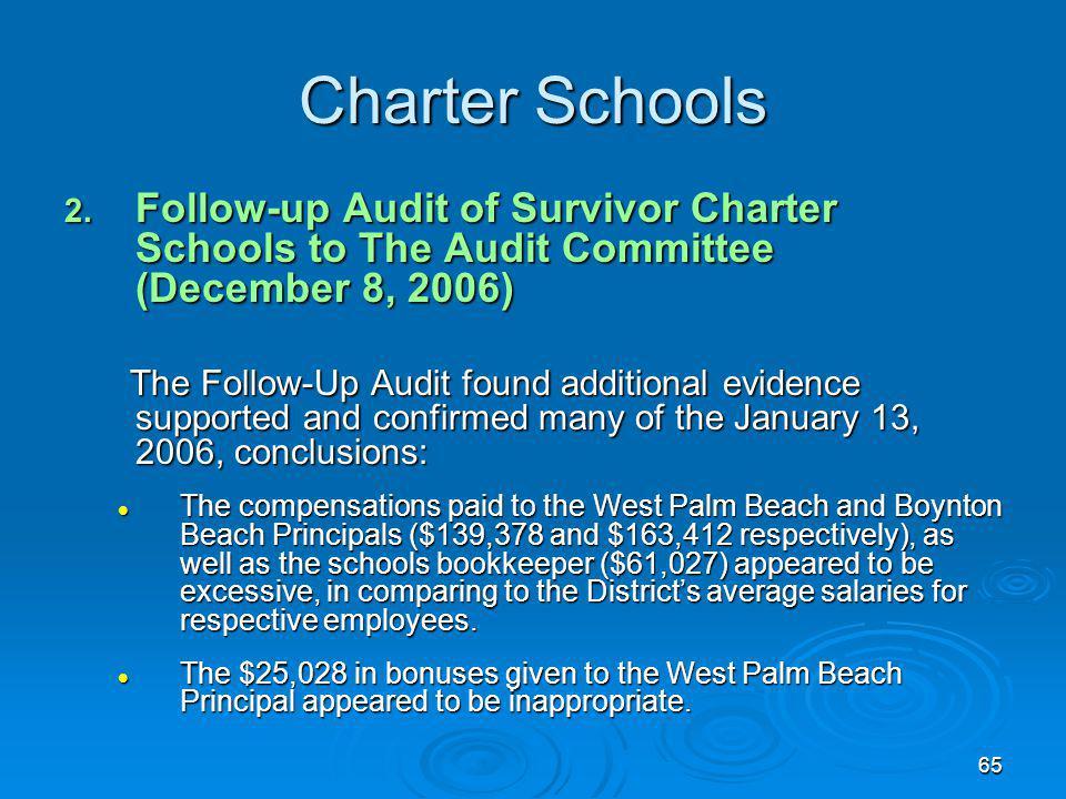 65 Charter Schools 2.