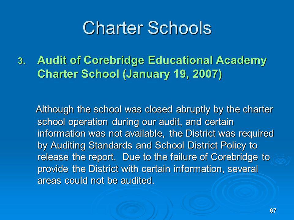 67 Charter Schools 3.
